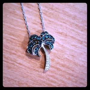 Jewelry - Sterling Silver Palm Tree Pendant
